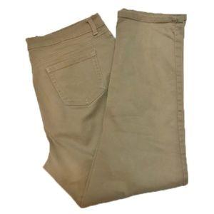 Gloria Vanderbilt Amanda sz. 16 beige jeans